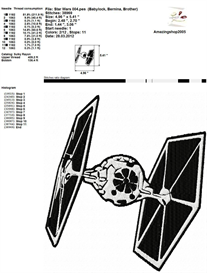 Star Wars - Embroidery Design | Crafting | Sewing | Other