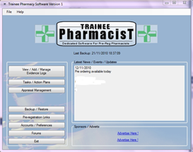 Trainee Pharmacist Software UK