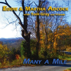 CD-228 Eddie & Martha Adcock Many A Mile | Music | Country
