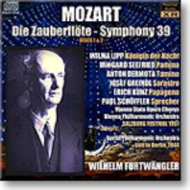 FURTWANGLER conducts MOZART Magic Flute, Symphony 39, 16-bit mono FLAC | Music | Classical