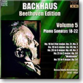 BACKHAUS Beethoven Edition Volume 5 - Sonatas 18-22, mono 16-bit FLAC | Music | Classical