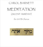 meditation (silent amidah) (pdf)