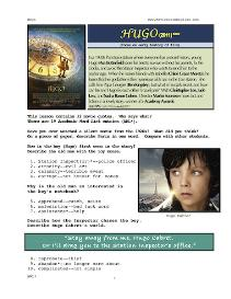 HUGO,  Whole-Movie English (ESL) Lesson | eBooks | Education