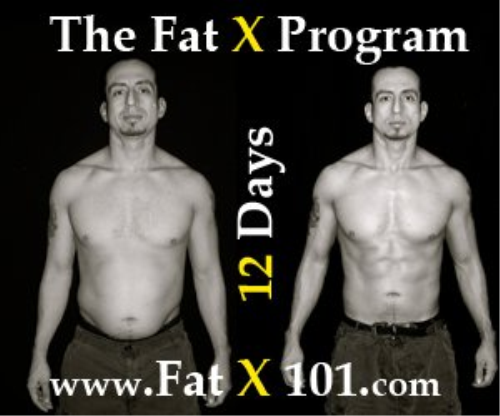 First Additional product image for - The Fat X Program