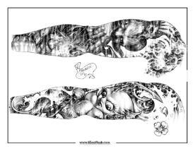 Edward Lee Tattoo Flash Art | Other Files | Patterns and Templates