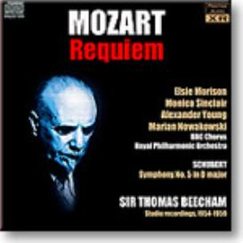 BEECHAM conducts MOZART Requiem, SCHUBERT Symphony 5, 16-bit mono and stereo FLAC | Music | Classical