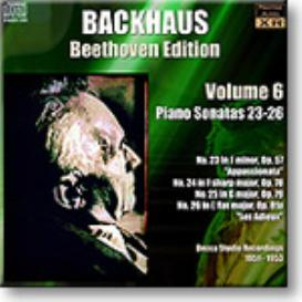 BACKHAUS Beethoven Edition Volume 6 - Sonatas 23-26, Ambient Stereo MP3 | Music | Classical