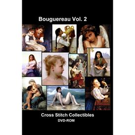 Bouguereau CD/DVD Vol. 2 - cross stitch pattern by Cross Stitch Collectibles | Crafting | Cross-Stitch | Wall Hangings