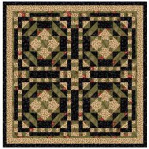 Cross Stitch Quilt Patterns : Ruby Rose Quilt Pattern Crafting Cross-Stitch Miscellaneous