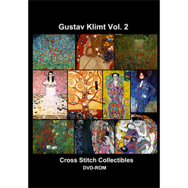 Klimt Vol 2 CD/DVD - cross stitch pattern by Cross Stitch Collectibles | Crafting | Cross-Stitch | Other