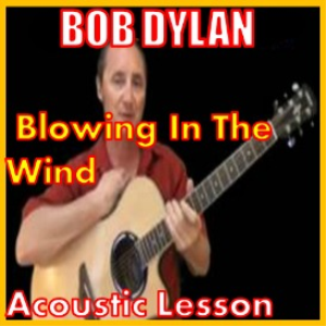 Learn to play Blowin In The Wind by Bob Dylan | Movies and Videos | Educational