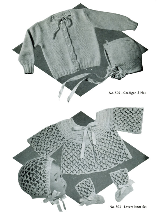 First Additional product image for - Baby Book   Volume 95   Doreen Knitting Books DIGITALLY RESTORED PDF