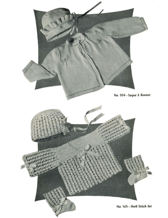Second Additional product image for - Baby Book   Volume 95   Doreen Knitting Books DIGITALLY RESTORED PDF