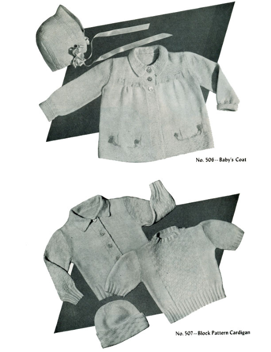 Third Additional product image for - Baby Book   Volume 95   Doreen Knitting Books DIGITALLY RESTORED PDF