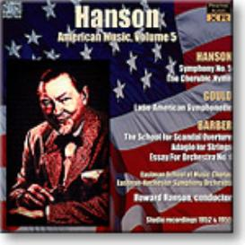 HANSON conducts American Music, Volume 5 - Hanson, Gould, Barber, mono 16-bit FLAC | Music | Classical