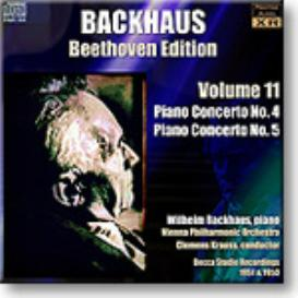 BACKHAUS Beethoven Edition Volume 11 - Concertos 4 and 5, Ambient Stereo MP3 | Music | Classical