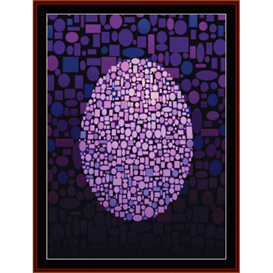 fractal 344 cross stitch pattern by cross stitch collectibles