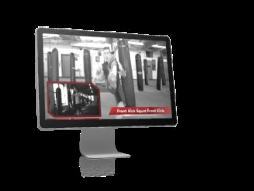First Additional product image for - The Maniac s Kickboxing Heavy Bag Workout Dvd with Michael Andreula
