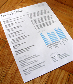 Dave's Resume Template (.PSD) | Documents and Forms | Resumes