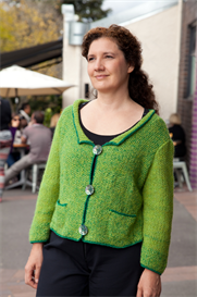 Chanelesque cropped jacket knitting pattern | Crafting | Sewing | Other