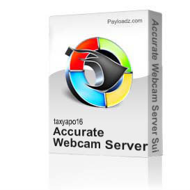 Accurate Webcam Server Suite