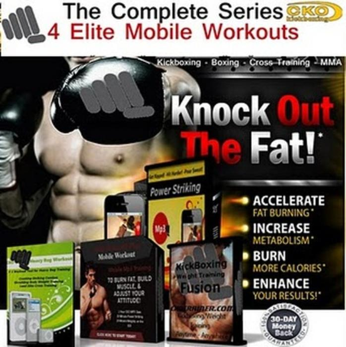 First Additional product image for - Maniac's Kickboxing Plus The Complete Mobile Workout Series