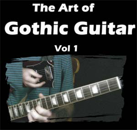 the art of gothic guitar volume one