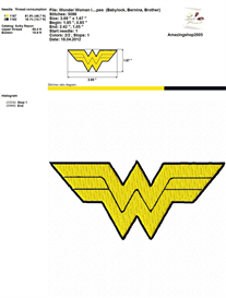 Super Heroes Logo- Embroidery Design | Crafting | Sewing | Other