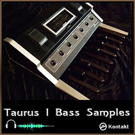 Moog Taurus I 1 Bass Synth Pedal native instruments kontakt 4 5 vintage sound | Music | Soundbanks