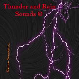 Thunder and Rain Sounds 2 hr | Music | New Age