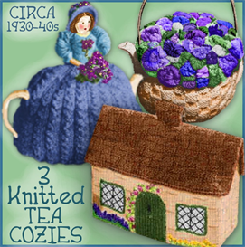 TEA COZIES - 3 knitted versions | Crafting | Sewing | Kitchen