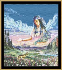Maiden Of The Meadow - Cross Stitch Pattern   Crafting   Cross-Stitch   Other