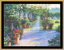 Siena Arbor - Cross Stitch Pattern | Crafting | Cross-Stitch | Other