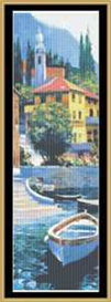 Lake Como Crossing - Cross Stitch Pattern | Crafting | Cross-Stitch | Wall Hangings