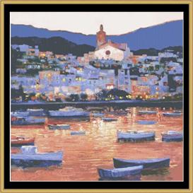 Costa Brana Sunset - Cross Stitch Pattern | Crafting | Cross-Stitch | Other