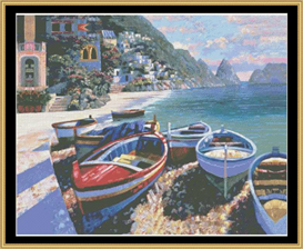 Capri Cove - Cross Stitch Pattern | Crafting | Cross-Stitch | Other