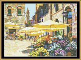 Sienna Flower Market - Cross Stitch Pattern | Crafting | Cross-Stitch | Other