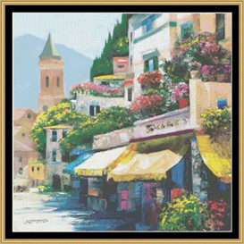Flower Market - Cross Stitch Pattern | Crafting | Cross-Stitch | Other