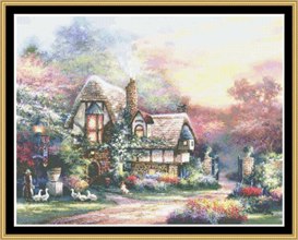 Weeks End Retreat - Cross Stitch Pattern | Crafting | Sewing | Other