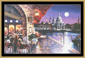 Cafe Barocco - Cross Stitch Pattern | Crafting | Cross-Stitch | Other