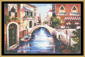 Streets Of Venice I - Cross Stitch Pattern | Crafting | Cross-Stitch | Other