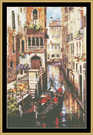 Italian Love Story - Cross Stitch Pattern | Crafting | Cross-Stitch | Other