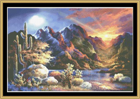 Saturday Sunset - Cross Stitch Pattern | Crafting | Cross-Stitch | Other