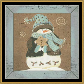 Winter Greeting - Cross Stitch Pattern | Crafting | Cross-Stitch | Christmas