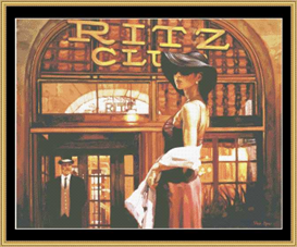 The Ritz Club - Cross Stitch Pattern | Crafting | Cross-Stitch | Other