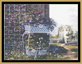 The Corner Garden - Cross Stitch Pattern | Crafting | Cross-Stitch | Other