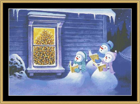 Carolers - Cross Stitch Pattern | Crafting | Cross-Stitch | Other