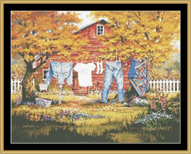 Line Dancers - Cross Stitch Patterns | Crafting | Cross-Stitch | Other