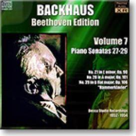 BACKHAUS Beethoven Edition Volume 7 - Sonatas 27-29, Ambient Stereo 16-bit FLAC | Music | Classical
