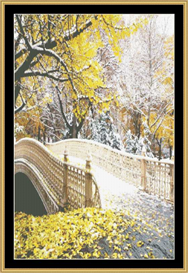 Autumn Snow - Cross Stitch Pattern | Crafting | Cross-Stitch | Other
